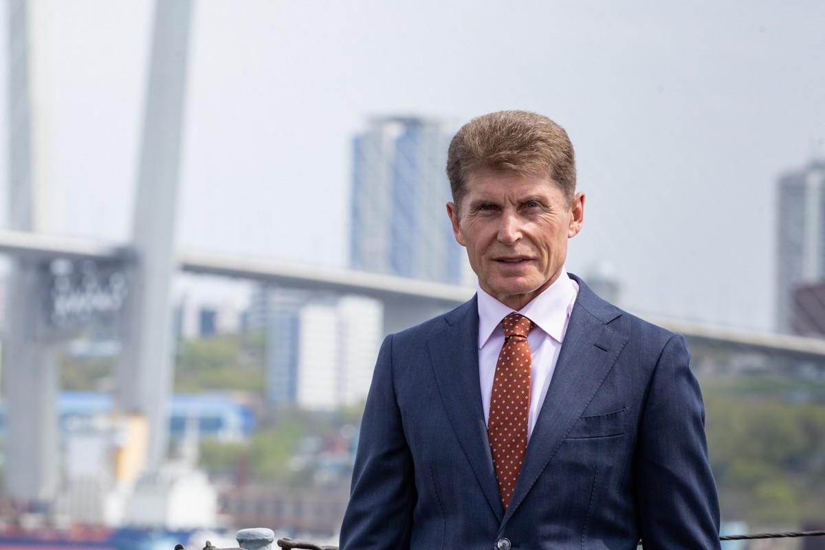 17 марта 2020 года свой 58-й день рождения празднует Губернатор Приморского края (РФ) Олег Кожемяко