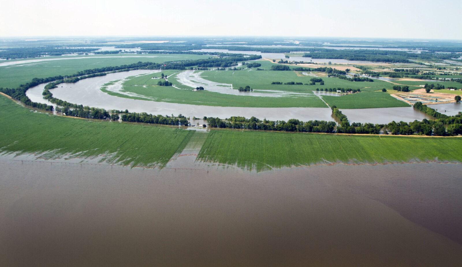 Губернатор и первая леди Миссисипи приняли участие в очистке территорий после наводнения