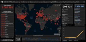 COVID-19: мировая статистика 27 апреля