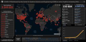 COVID-19: мировая статистика 30 апреля