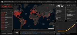 COVID-19: мировая статистика 26 мая